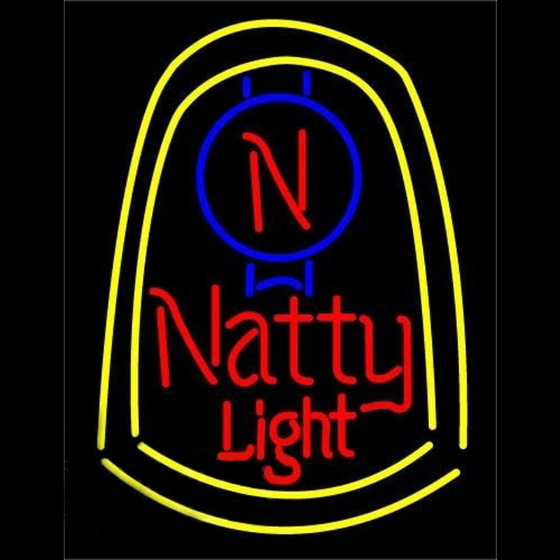 Natural Natty Light Beer Sign Neontábla