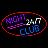 24 7 Night Club Neontábla