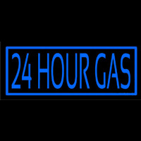 24 Hour Gas Neontábla
