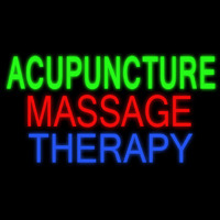 Acupuncture Massage Therapy Neontábla