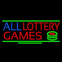 All Lottery Games Neontábla