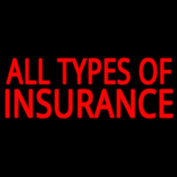 All Types Insurance Neontábla