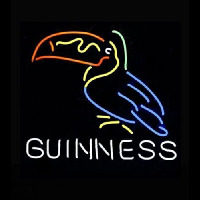 Art GUINNESS TOUCAN Neontábla