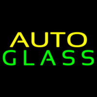 Auto Glass Block Neontábla