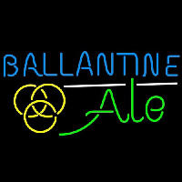 Ballantine Ale Yellow Beer Neontábla