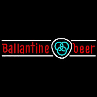 Ballantine Blue Logo Beer Sign Neontábla