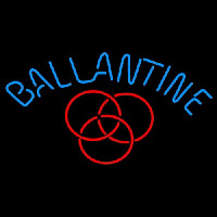Ballantine Red Logo Beer Neontábla