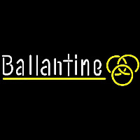 Ballantine Yellow Logo Beer Sign Neontábla