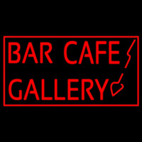 Bar Cafe Gallery Neontábla
