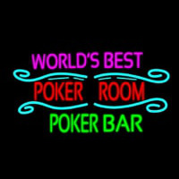Best Poker Room Liquor Bar Beer Neontábla