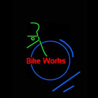 Bike Works Neontábla