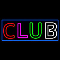 Block Club Neontábla