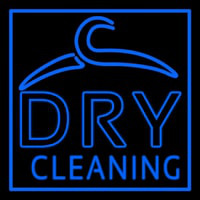 Blue Dry Cleaning Neontábla