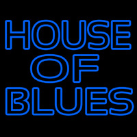 Blue House Of Blues Neontábla