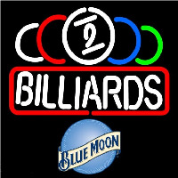 Blue Moon Ball Billiard Te t Pool Beer Sign Neontábla