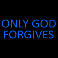 Blue Only God Forgives Neontábla