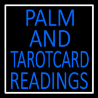 Blue Palm And Tarot Card Readings Neontábla