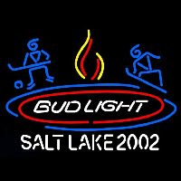 Bud Light Salt Lake 2002 Neontábla