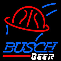 Busch Basketball Beer Sign Neontábla