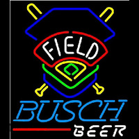 Busch Beer Field Colorado Rockies Beer Sign Neontábla