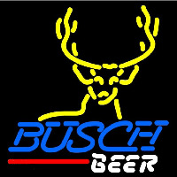 Busch Deer Buck Beer Sign Neontábla