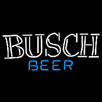 Busch Double Stroke Word Beer Sign Neontábla