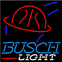 Busch Light Basketball Beer Sign Neontábla