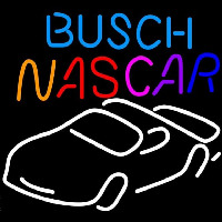 Busch Nascar Beer Sign Neontábla