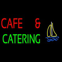 Cafe And Catering Neontábla