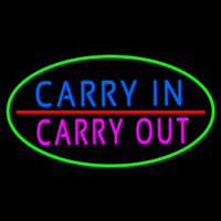 Carry In Carry Out Neontábla