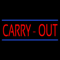 Carry Out Neontábla