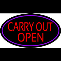 Carry Out Open Neontábla