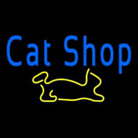 Cat Shop Neontábla