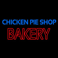 Chicken Pie Shop Bakery Neontábla
