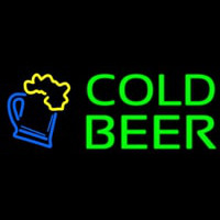 Cold Beer Neontábla