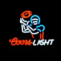 Coors Light Football Sport Neontábla
