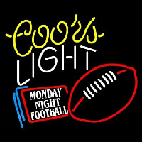 Coors Light Monday Night Football Neontábla