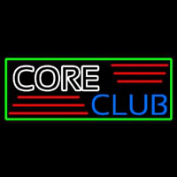 Core Club Neontábla