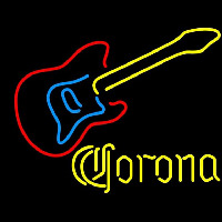 Corona Guitar Beer Sign Neontábla