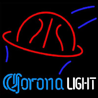 Corona Light Basketball Beer Sign Neontábla
