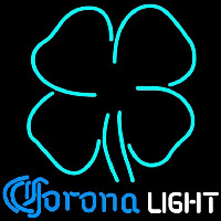 Corona Light Clover Beer Sign Neontábla