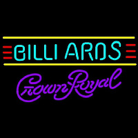 Crown Royal Billiards Te t Borders Pool Beer Sign Neontábla