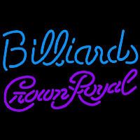 Crown Royal Billiards Te t Pool Beer Sign Neontábla