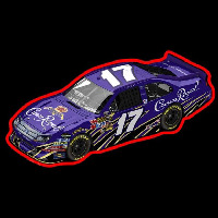 Crown Royal NASCAR Neontábla