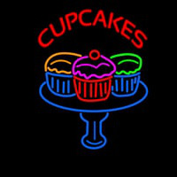 Cup Cakes Neontábla