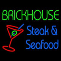 Custom Brickhouse Steak And Seafood Neontábla