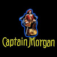 Custom Captain Morgan Logo Neontábla