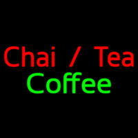 Custom Chai Tea Coffee 1 Neontábla