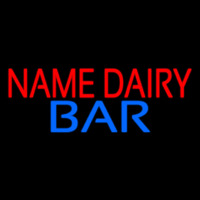 Custom Dairy Bar Neontábla