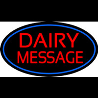Custom Dairy On Logo Neontábla